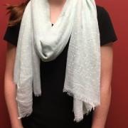 scarf-polka dot