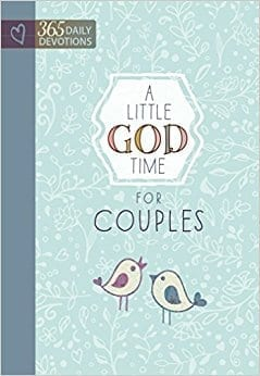 A little God time for couples devo