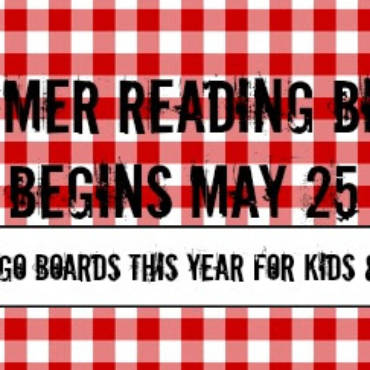It's Time for Summer Reading Bingo!